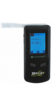 Alcovisor Mercury professional breath alcohol analyzer