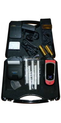 Alcovisor Mark-X professional breath alcohol analyzer with printer