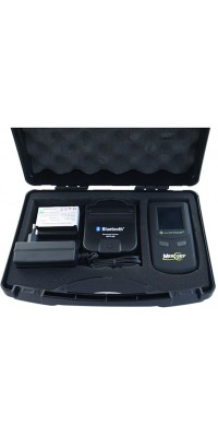 Alcovisor Mercury professional breath alcohol analyzer with bluetooth wireless printer