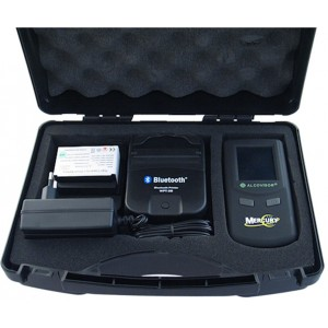 Alcovisor Mercury professional breath alcohol analyzer with bluetooth wireless printer
