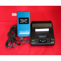 Alcovisor MARS Bluetooth digital breath alcoholtester with printer and 25 mouthpieces