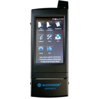 Alcovisor Jupiter-X professional breath alcohol analyzer with built-in thermal printer and GPS